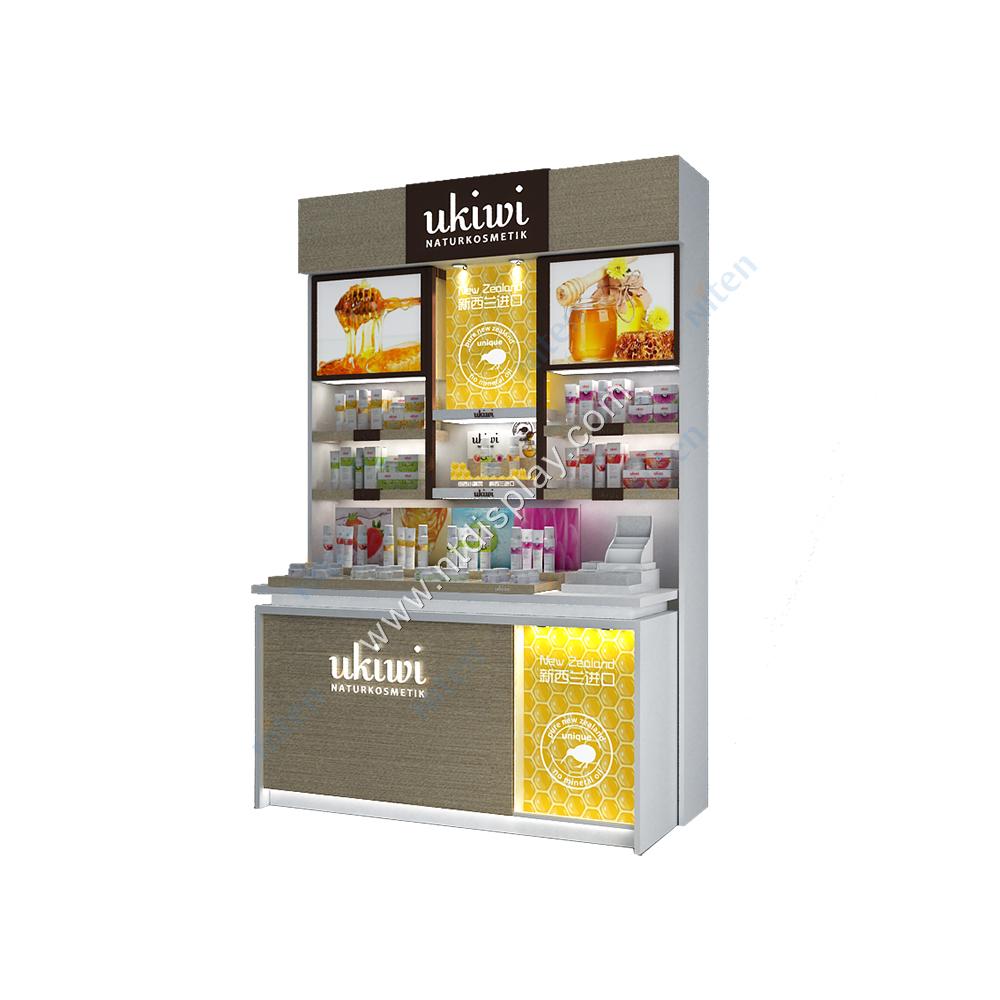 Noel öğesi eczane rafları Modern eczane dükkanı dekorasyon sayaç tasarımı tıbbi mağaza kabine eczane mobilya vitrin