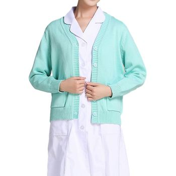 Fast Delivery Hospital Sweater Uniform For Nurse