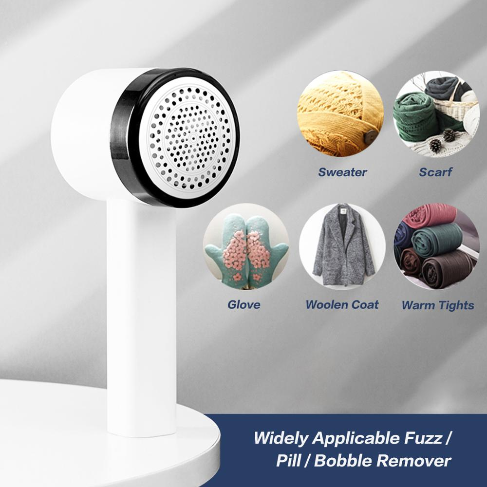 Electric Handheld Clothes Fabric Shaver Pet Fur Hair Pill Remover Machine Rechargeable Portable Lint Remover