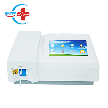 HC-B009B Factory original touch screen semi-automatic chemistry analyzer