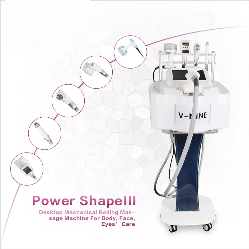 Desktop rf vacuum cavitation equipment skin tightening fat reduction machine for salon