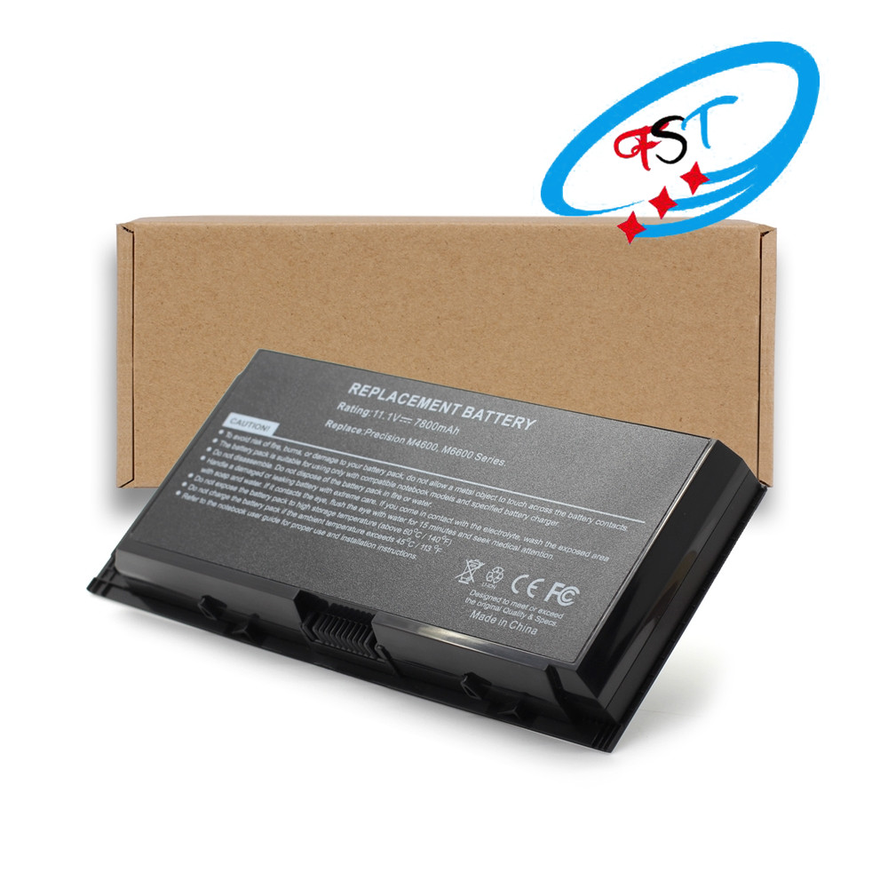 Wholesale supplier laptop battery for DELL M6600,M6700,M4600,M4700 11.1V 7800mAh