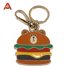 Customized Logo Custom Souvenir Bottle Shaped Key Chain