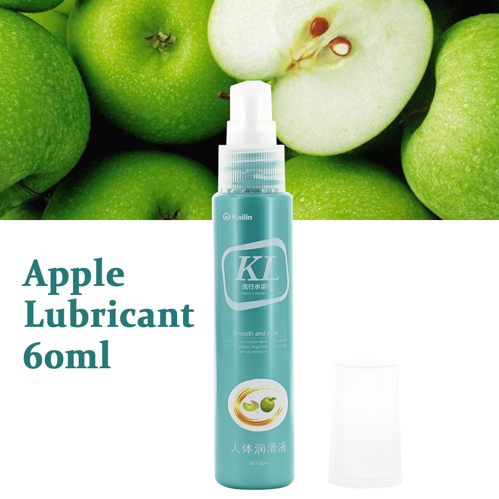 60ML Peach Flavor Water-Based Lubricant For Male Female Lubrication Adult Sex products Warm Lubricant for Sex