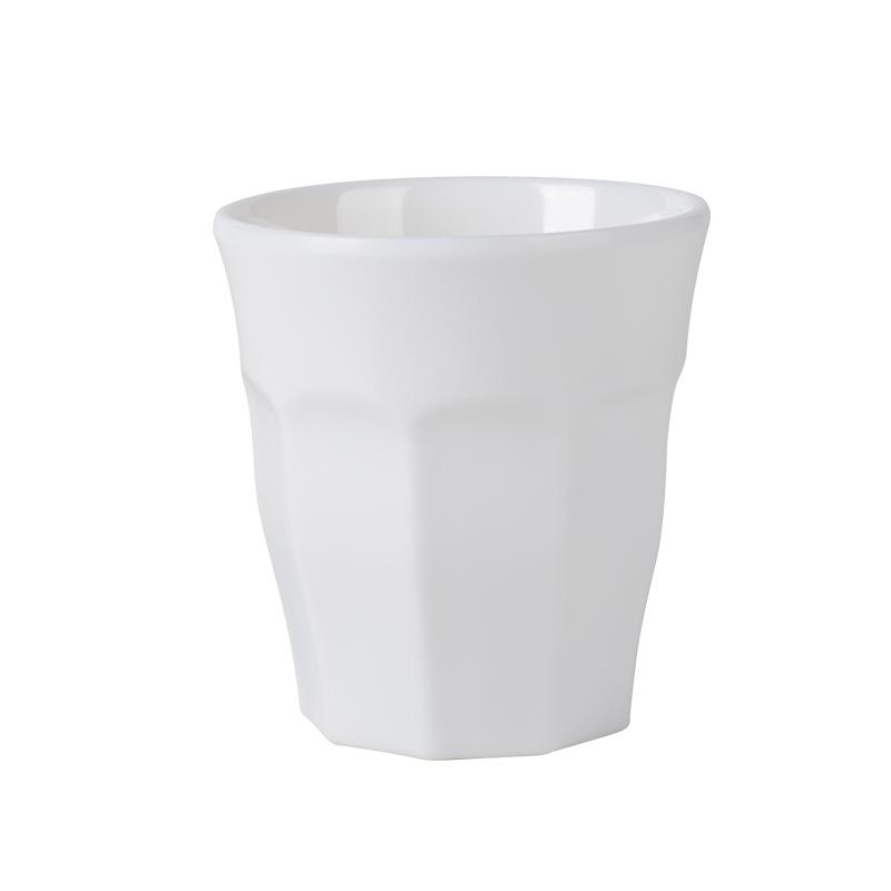 140ml 250ml Cup Plastic White Melamine Tea Coffee Cups
