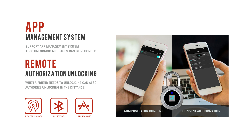 Composant électronique biométrique d'empreinte digitale intelligente serrure de porte