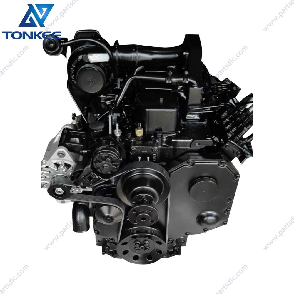 Original New excavator engine 4BTA3.9-C 4BT B3.9 diesel engine assy