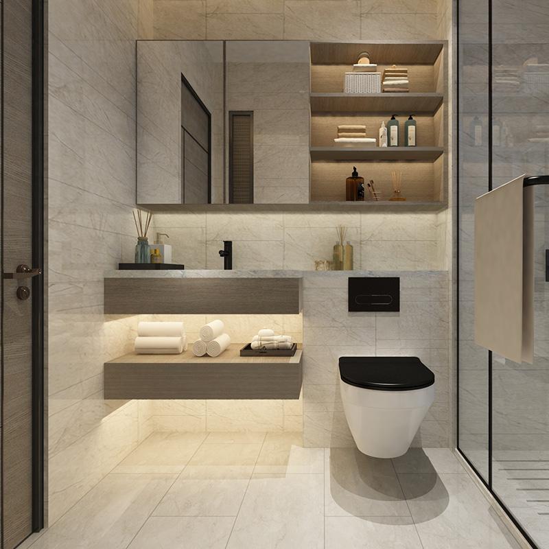 조주 새로운 욕실 디자인 벽 마운트 클래식 럭셔리 욕실 세면대 캐비닛