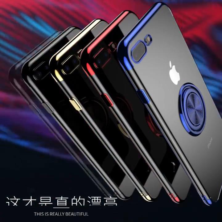 Bague Étui de Téléphone pour Samsung S20 Note 20 10 Lite 9 8 pour Galaxy S10 S9 S8 A51 A71 A81 a91 A50 A70 Bague Couverture de Téléphone