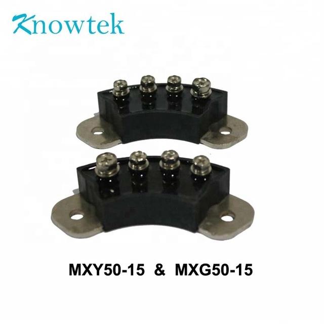 Generator Rectifier Pair Rotary Rectifier Module Bridge MXG50-15 MXY50-15 70mm Generator Accessory