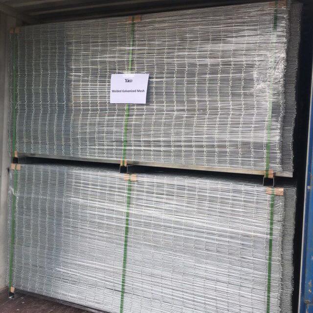 prices of 8 10 gauge 2x2 3x3 4x4 6x6 10/10 galvanized welded wire mesh philippine