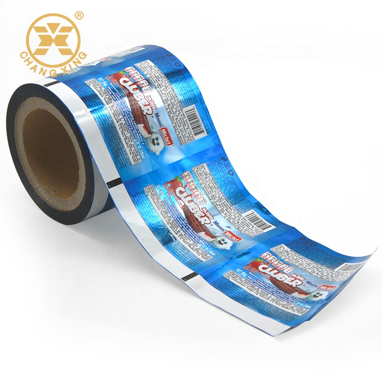 Bars Plastic Film Printed Laminated Chocolate Bar Packaging Material