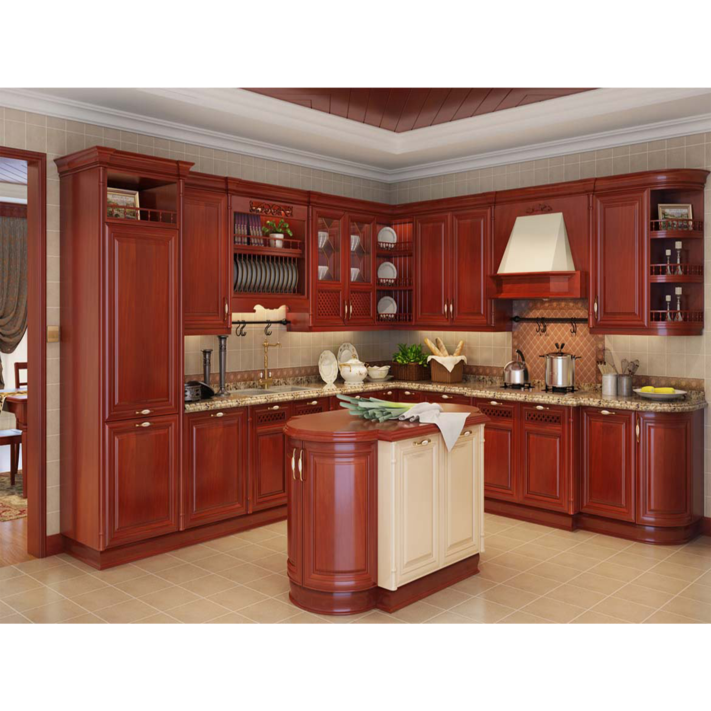 Foshan Modular Solid Wood Kitchen Cabinets Wooden Furniture Double Color Lacquerclassic Solid Wood Kitchen Cabinet Design Buy Kitchen Cabinets China Cheap Movable Kitchen Cabinets Kitchen Cabinets Design Product On Alibaba Com