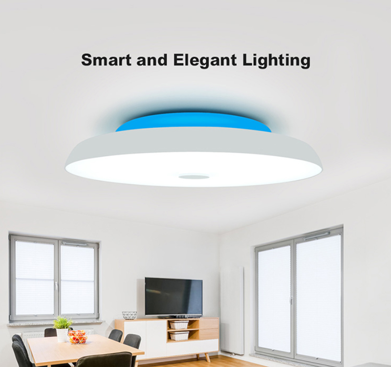 72W Bluetooth Led Ceiling Light Ceiling Lamp for Kitchen Lamp Surface Night Lights For Indoor Lighting 60*60*8cm Star Cover