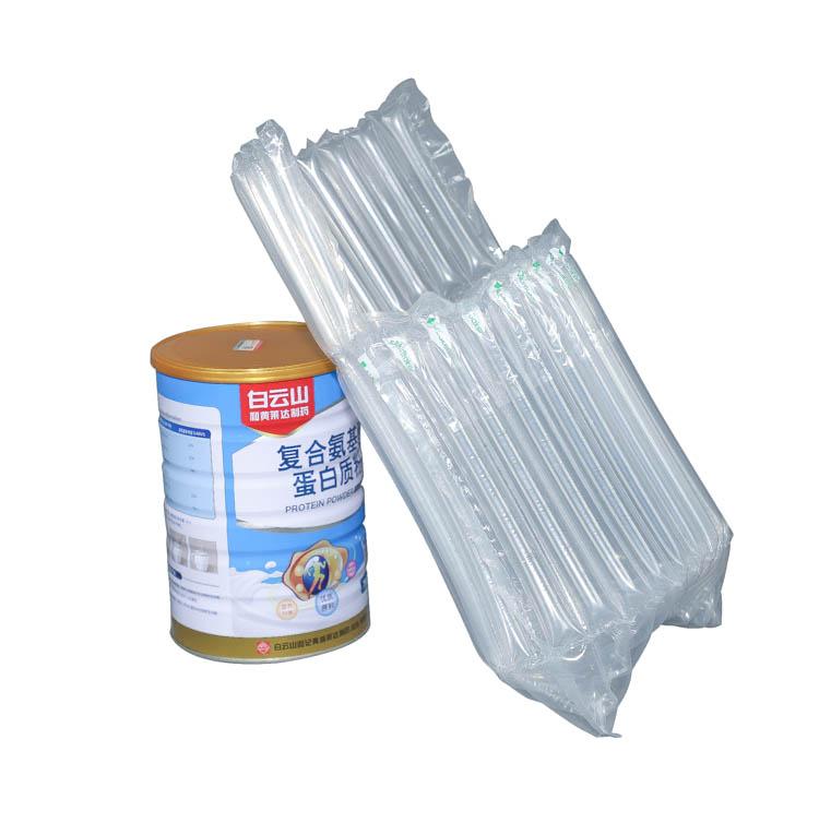 Sıcak satış kullanımlık şişe çantası süt tozu olabilir koruyucu şarap nakliye çantası şişme hava yastıkları