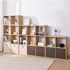Family living room display cabinet, bedroom bookshelf, family classification storage rack