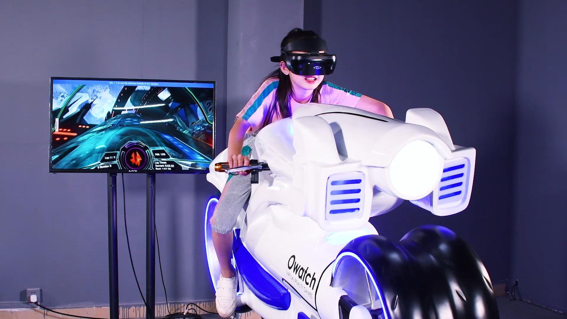 Gaya Baru VR Sepeda Motor Mengemudi Simulator untuk Dijual