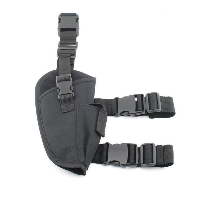 Adjustable Military Airsoft <strong>Holster</strong> Hunting Tactical Pistol Drop <strong>Leg</strong> <strong>Holster</strong> Hunting Thigh Gun <strong>Holster</strong> for right hand
