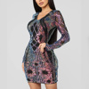 2020 new arrivals Embroidery sequin dresses sexy plus size women clothing bodycon boho style club party dress vestidos