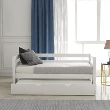 Daybed 함께 번들 프레임 <span class=keywords><strong>세트</strong></span> <span class=keywords><strong>더블</strong></span> <span class=keywords><strong>침대</strong></span> 트윈 <span class=keywords><strong>침대</strong></span>, 화이트