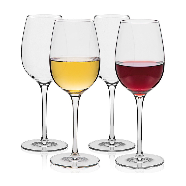 eco-friendly unbreakable clear transparent color food grade tritan copolyester plastic goblet wine <strong>glass</strong>
