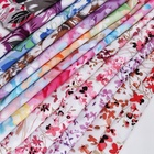 Shaoxing textile fashion custom 100 viscose rayon fabric printing roll