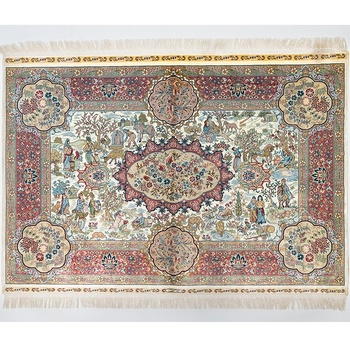 Hot selling product persian wall hanging henan carpet handmade silk Factory price Manufacturer Supplier