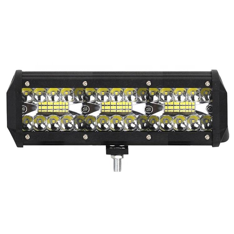 lkt 9 inch fog lights 180w Three row work lights ed light bar with great price