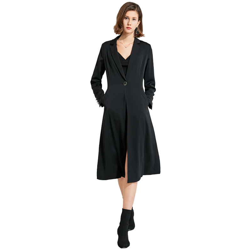 2020 New Arrivals women overcoat A-line elegant <strong>Fashion</strong> long trench <strong>winter</strong> women ladies <strong>coats</strong>