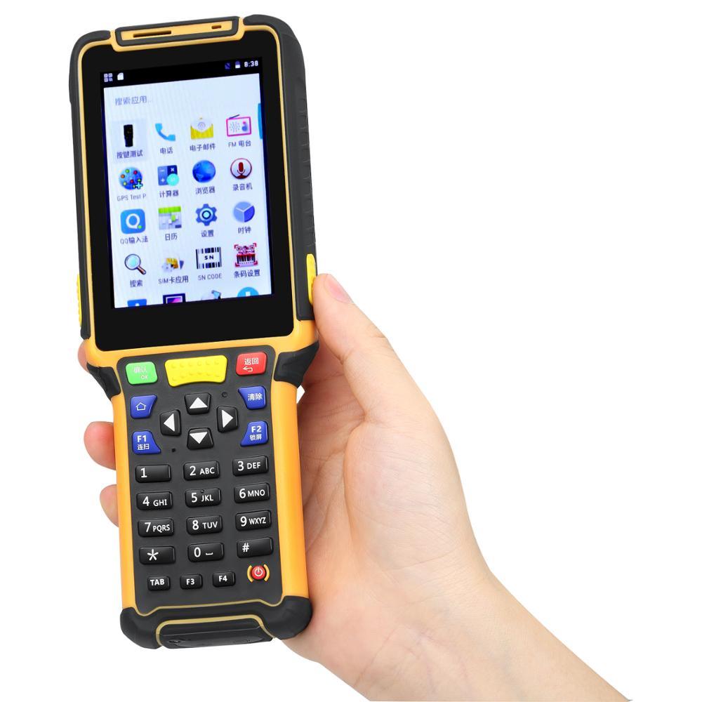 Scanner de codes-barres TS-801 pouces, système pa, pour entrepôt, Android, portatif, Rfid, OEM, 4.5