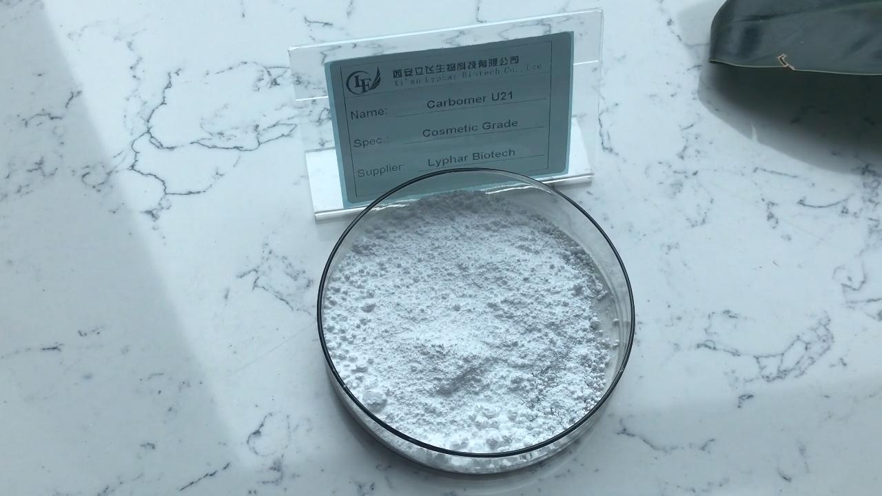 ISO sertifikalı fabrika kaynağı Carbopol U21 Carbopol Ultrez 21 polimer
