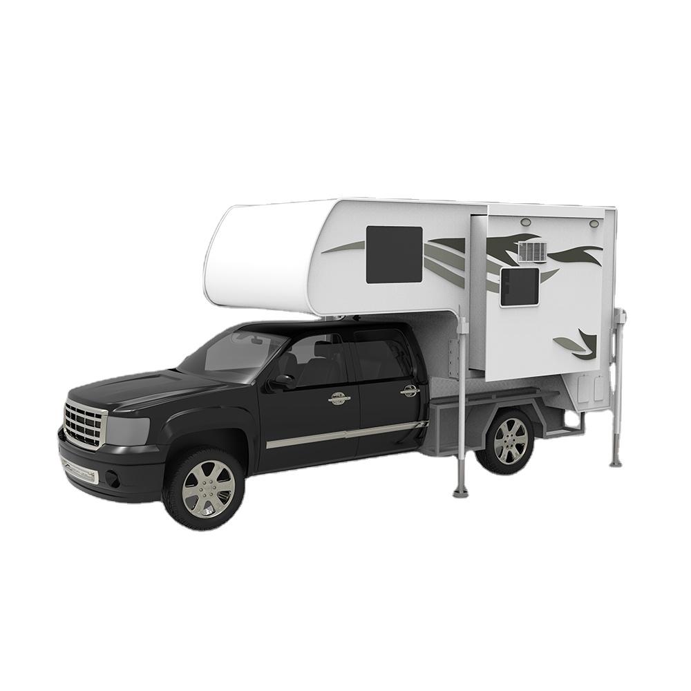 USA 4x4 ute hard top up slide in pickup truck camper