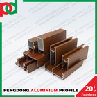 Aluminium Profiles Wooden Color For Windows and Doors Serie25