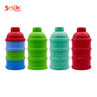 Hot Sale 3 Layers Storage Formula Feeding Safe PP Portable Baby Bottle Milk Box Powder Dispenser Container