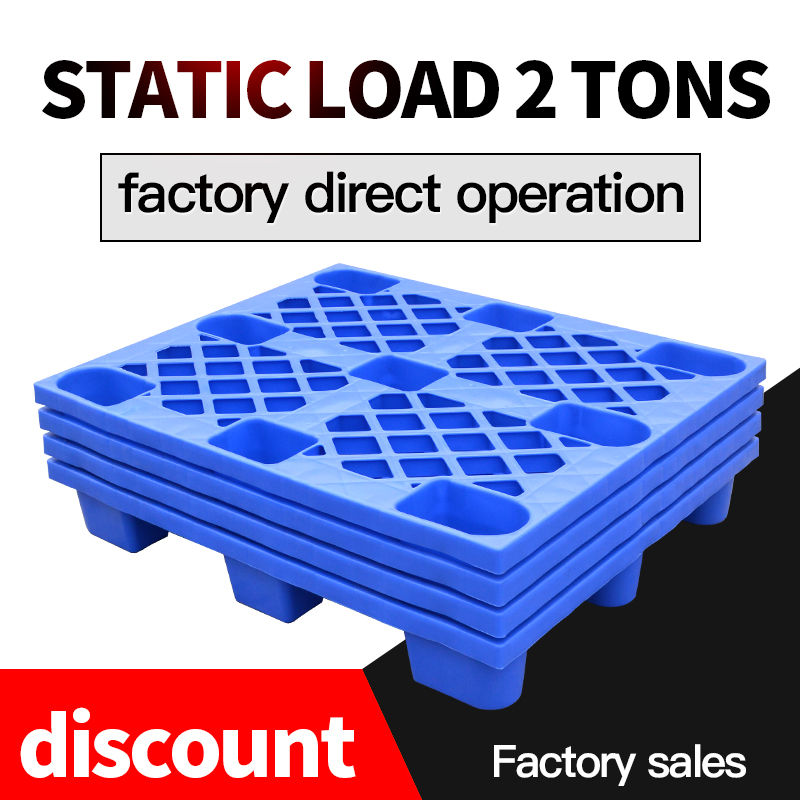 Save 50% on freight HDPE single side stacking plastic pallet for sale