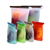 Reusable Food Frozen Storage Bag Silicone fresh keeping sealed bag Keep Your Food Fresh