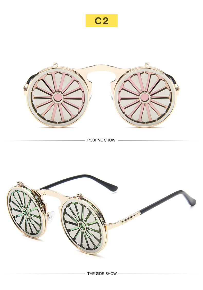 Fuqian Best large frame womens sunglasses customized for women-19