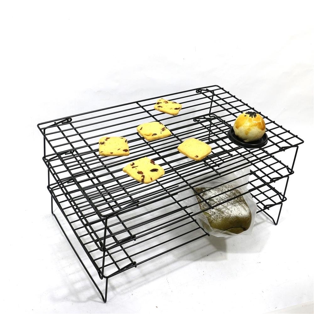Hot Jual 2019 Baru Gaya Roti Pendingin Toast Rack Besar Lantai Logam Roti Rak Display untuk Toko Roti