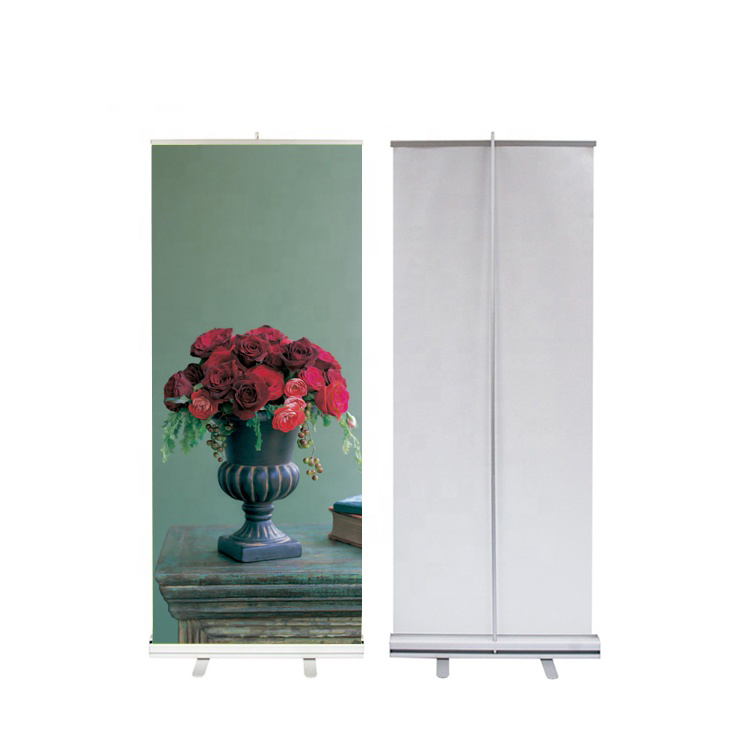 Roll Up Horizontal Banner Stand Roll Up Banner Aluminum Roll Up Display Stand