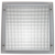 HVAC aluminum decorative eggcrate grille air conditioner louvers