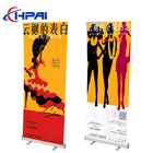 Standee Lightweight Stand Well Stand Exhibition Shows Standard Size Display Standee Market Promotion Lightweight Foldable Roll Up Stand