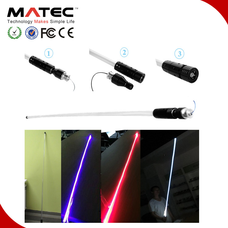 Custom Factory Polaris Buggy RZR Antenna Led Light Multi-Color RGB Miniera Bandiera Luce 4ft 5ft 6ft