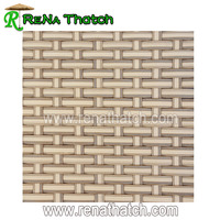 Plastic artificial weaving rattan mat sheet material