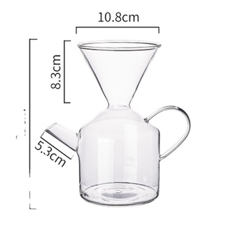 China supply 700ml coffee press marker coffee pot with infuser