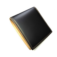 Genuine cowhide leather folio wallet coin purse leather wallet