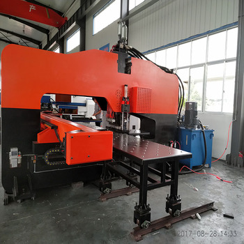 HOT Product High Quality Hydraulic Thick Plate CNC Turret Punch Machine