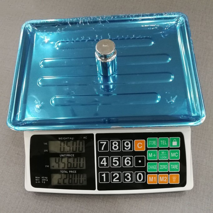 ACS-822E 40kg Digital Price Computing Scale 30kg Electronic Weighing Scale with Touch Key-press