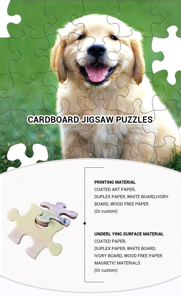 Oem 500pcs Hot Selling Intelligence Jigsaw Puzzle 1000 Pieces For Kids