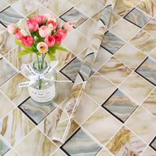 Мраморные обои, кухонные Настенные обои, самоклеющиеся самоклеящиеся виниловые наклейки на стену для ванной комнаты(Китай)