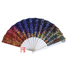 PS Material Personalized Durable Custom Promotional Plastic Hand Fan